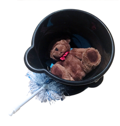 Teddy Bear Bucket
